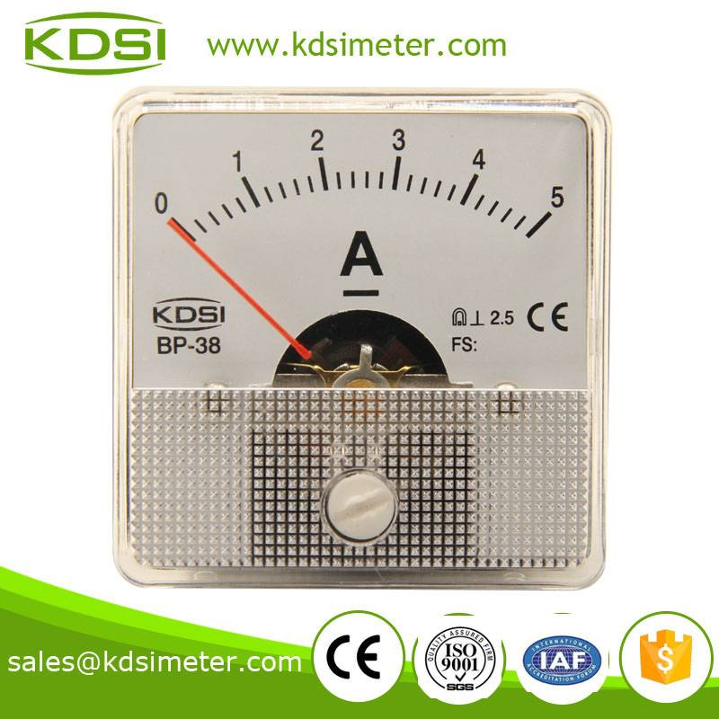 Safe to operate BP-670 DC5A panel current meter