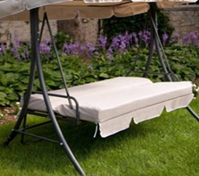 Multi-functional hammock swing bed patio swing with canopy