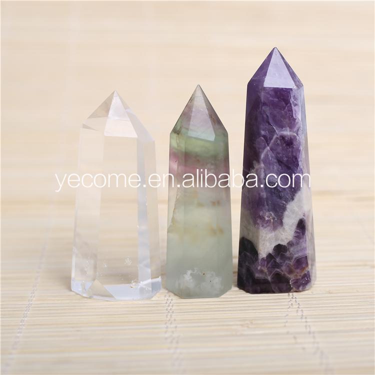 Little shape quartz healing crystal wands for healing