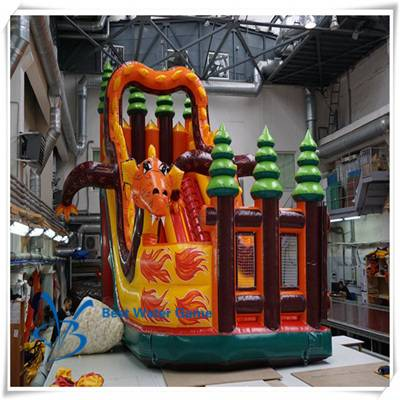 Dragon Knight theme Inflatable slide for sale