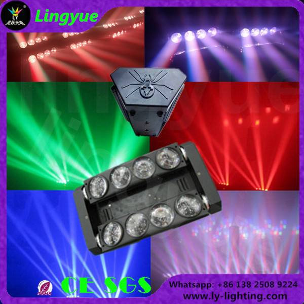 8X12W rgbw 4in1 beam led spider light