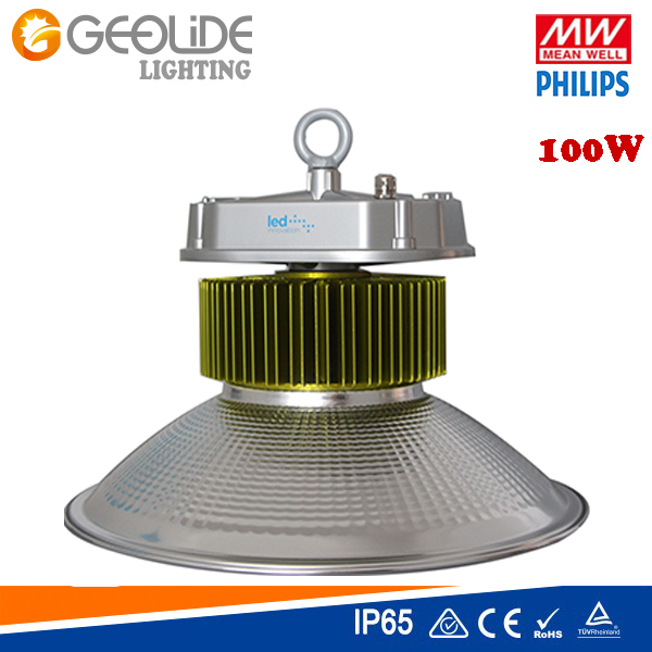 IP65 Quality 100W Meanwell Philips LED High Bay Light (LED Industrial Light -100W)