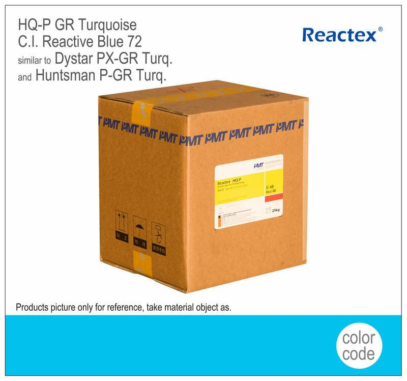 Reactex® HQ-P GR Turquoise reactive printing dyes