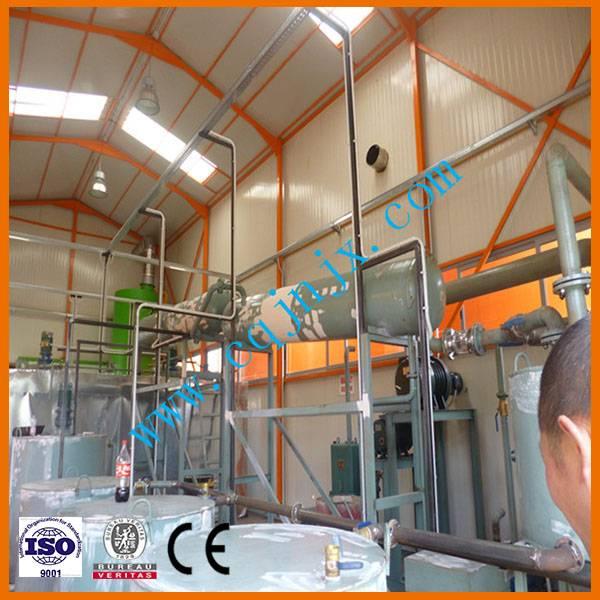 Waste Engine Oil Refinery Equipment
