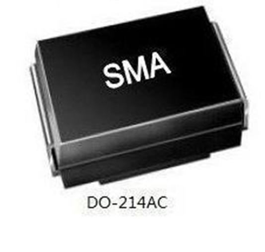 Transient Voltage Suppressor SMAJ5.0--440CA 400W Do-214AC Case TVS Chip Diode