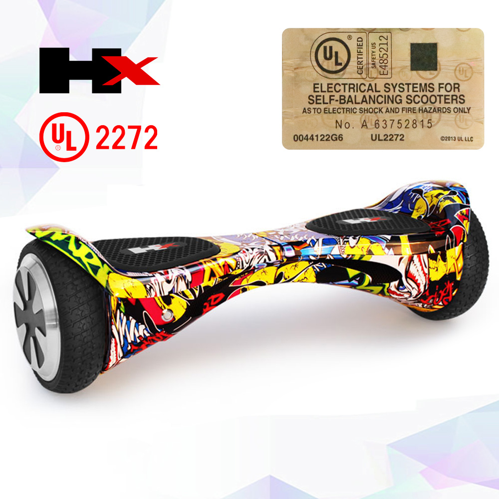 Shenzhen electric scooter lithium samsung battery hoverboard bluetooth
