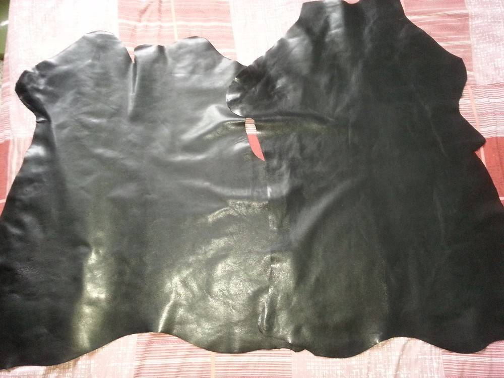 A whole piece of black goat skin,goat skin leather with factory price