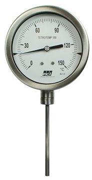 Bimetal Type Temperature Gauge - TT100