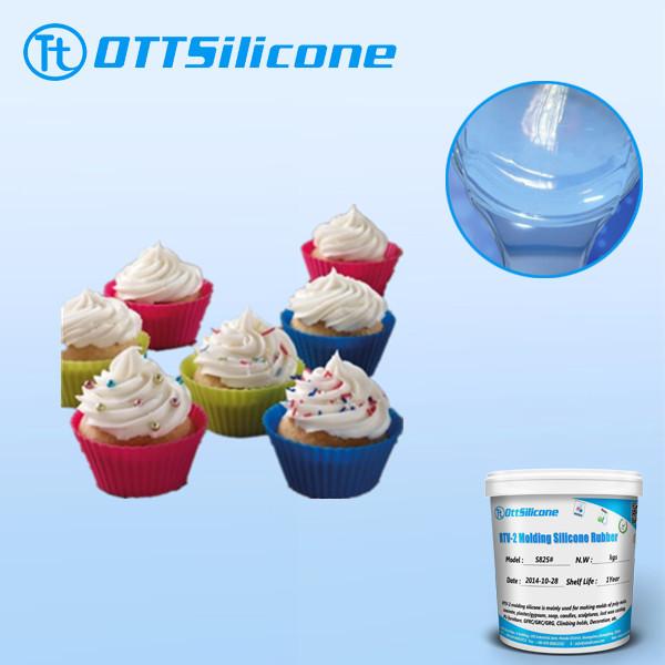 RTV Liquid Silicone Rubber for Cake Mold Making