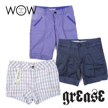 Italian GREASE shorts for women