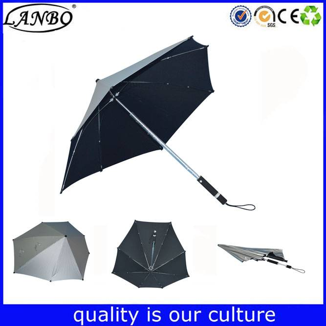 high quality special straight umbrella strong storm-proof umbrella