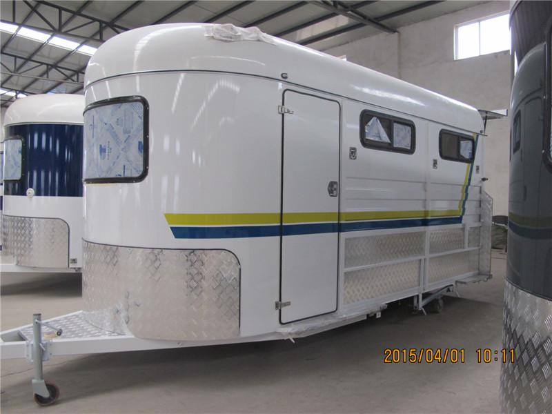 3 horse float angle load standard trailer
