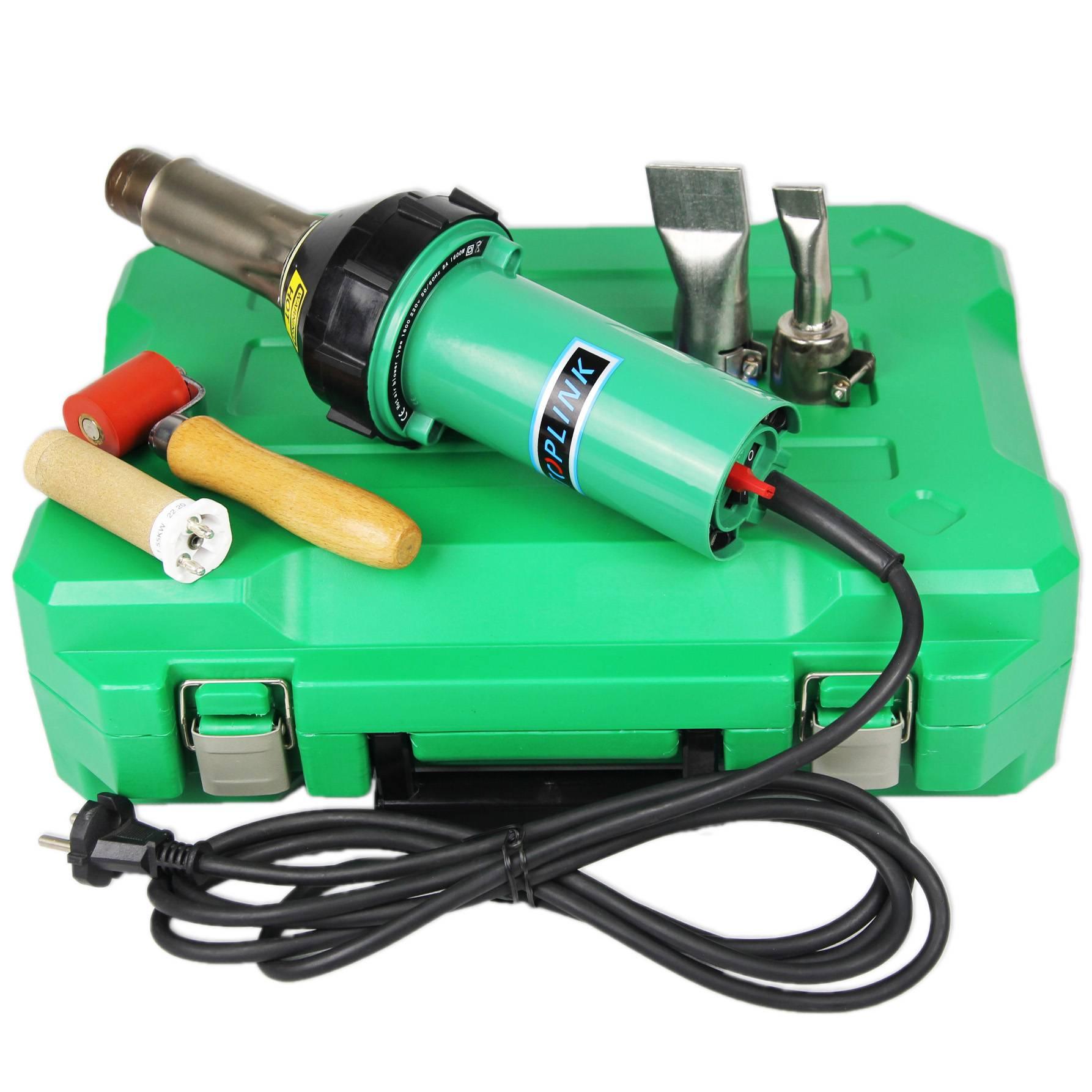 Hot air gun for PP/PE/PVC