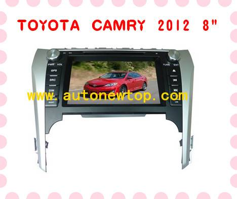 """Special car DVD player for Toyota Camry 2012 8"""""""