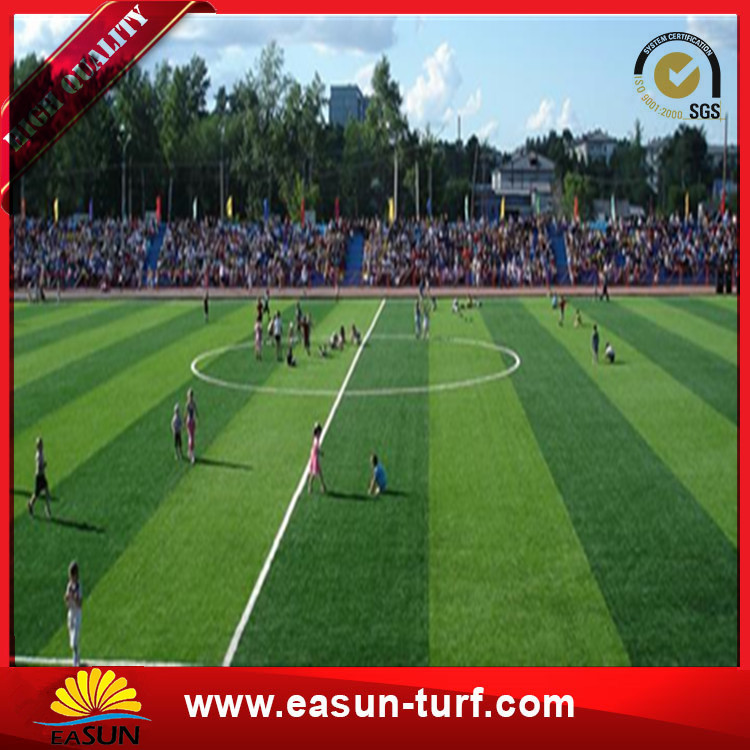 Soccer High Quality Natural Football Artificial Turf Grass-Donut