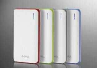 Polymer battery portable power bank 8000mAh mobile phone charger