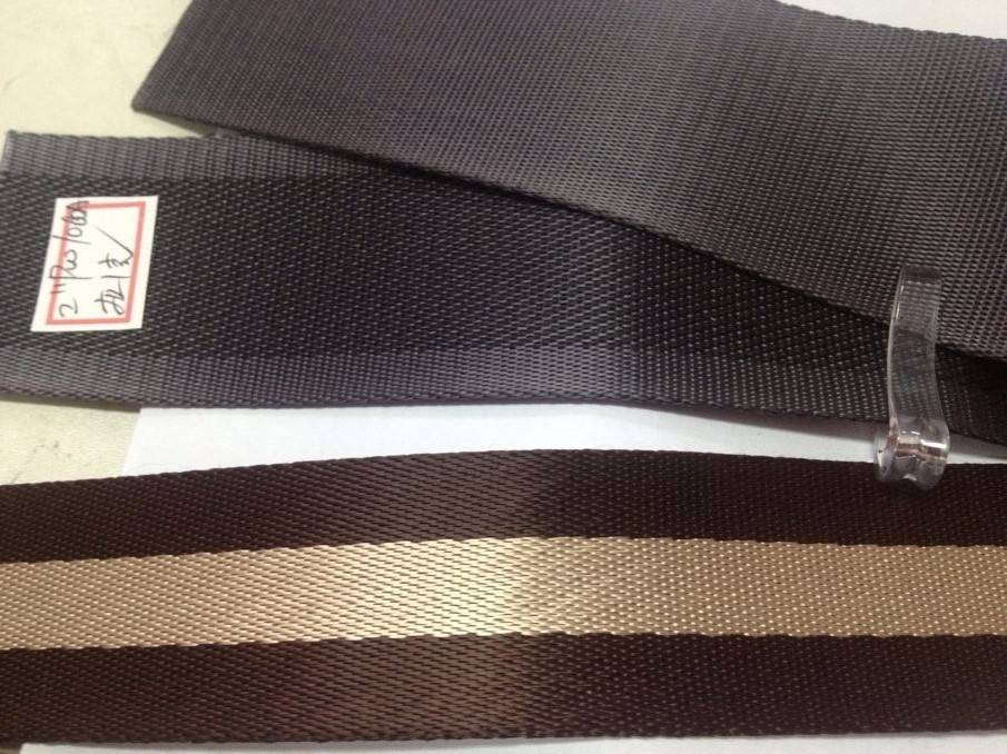 High quantity nylon webbing
