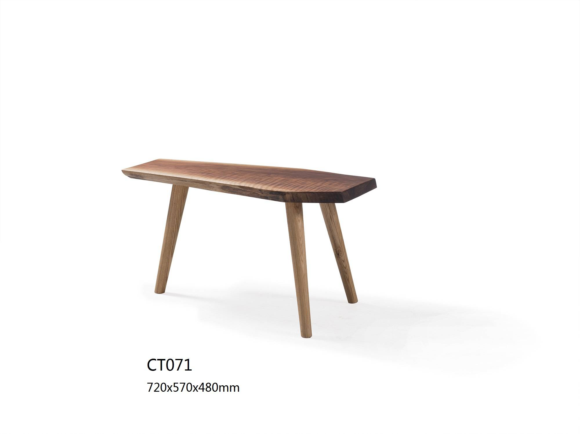 Ash wooden furniture for coffee table