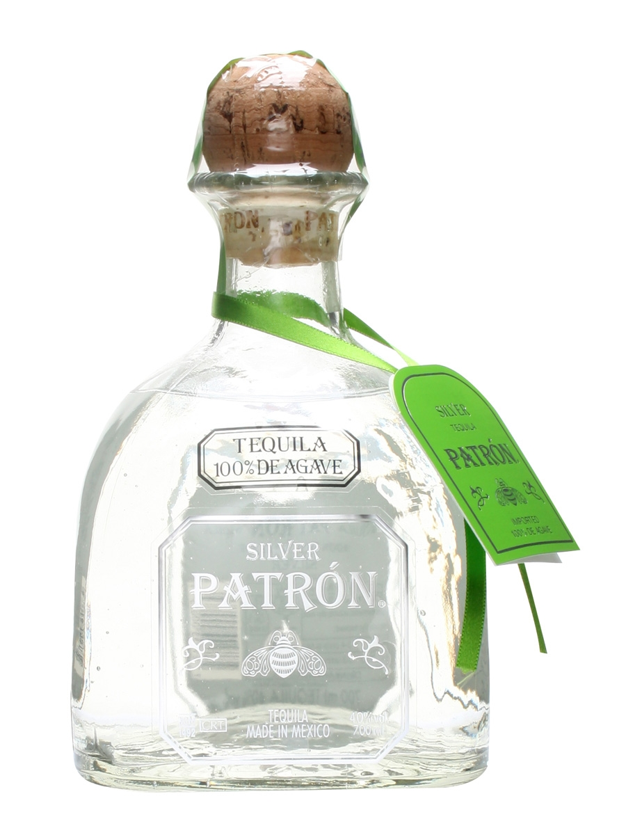PATRON SILVER TEQUILA 70CL / 40%