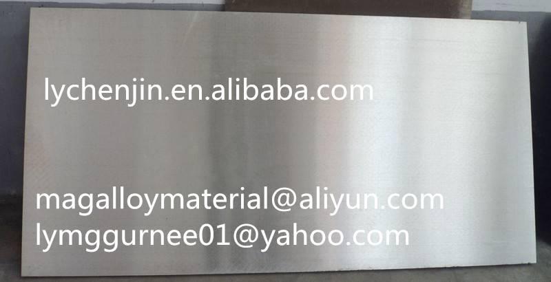 Magnesium Alloy Plate az31