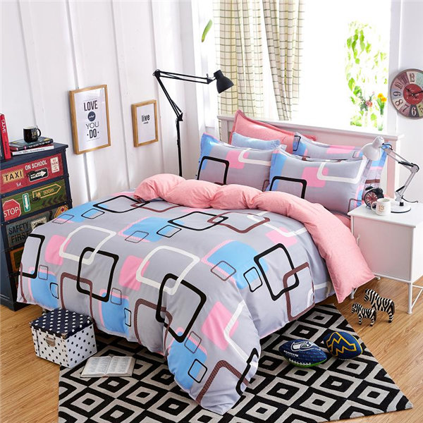 OEM cotton Duvet Cover/Cotton Fabric super soft quilt/ Silk DuvetCover Set
