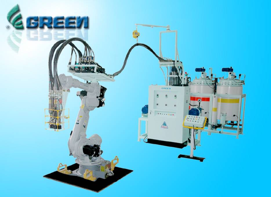 PU HIGH PRESSURE MACHINE