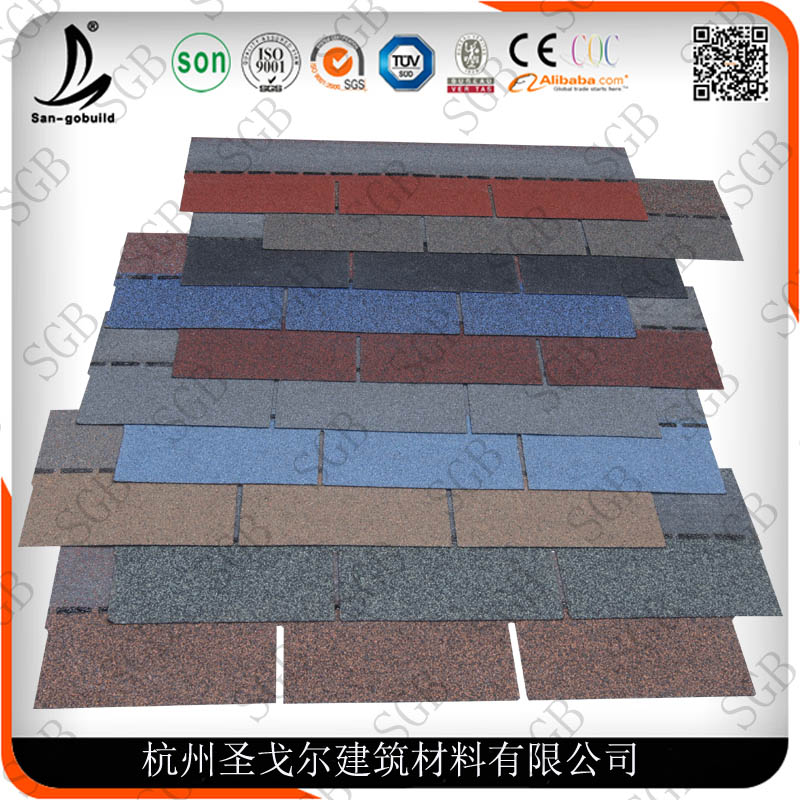 Asphalt Roofing Shingle Manufacturing Price from China Factory