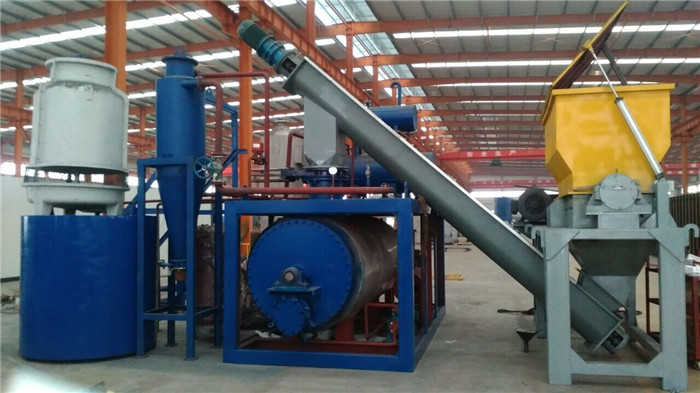 Epuipment for processing kitchen wastes, animal wastes, waste oil, waste clay recycling