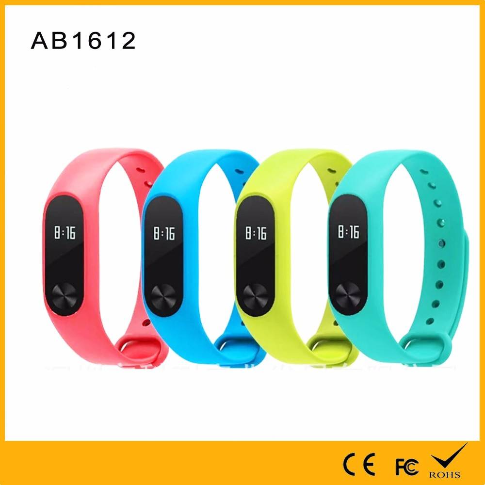 Original Quality Assurance Factory Made 10m bluetooth Heart Rate Bracelet with Call SMS Reminder blu
