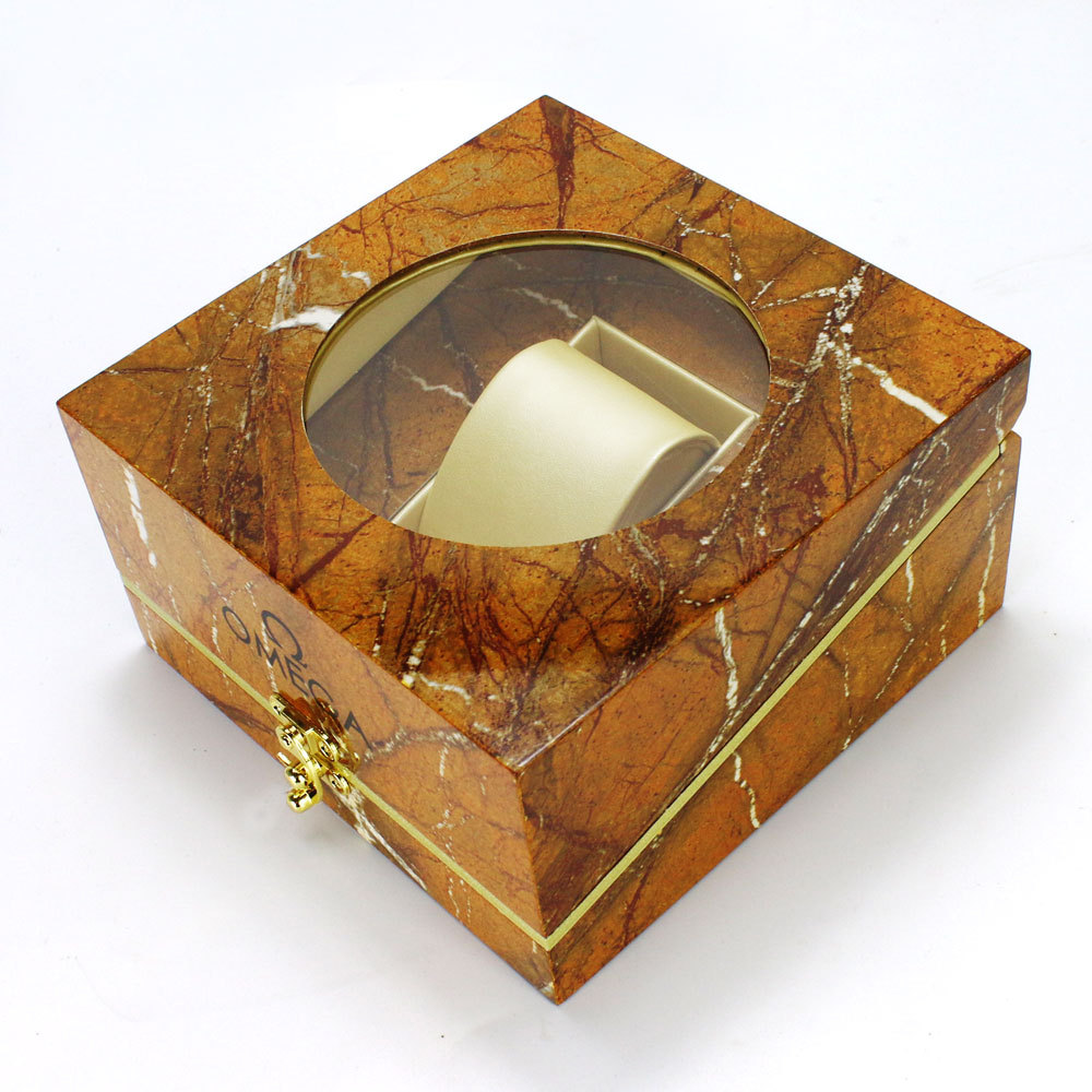 Fancy Luxury Single Watch Box with Window Whosale