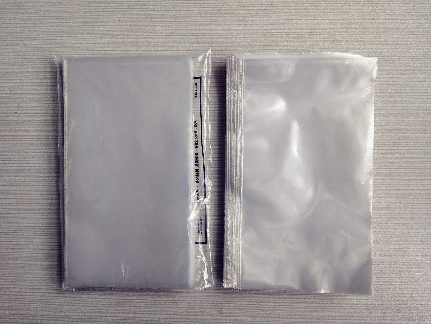 HDPE side seal bags, LDPE side seal bags, Pp side seal bags