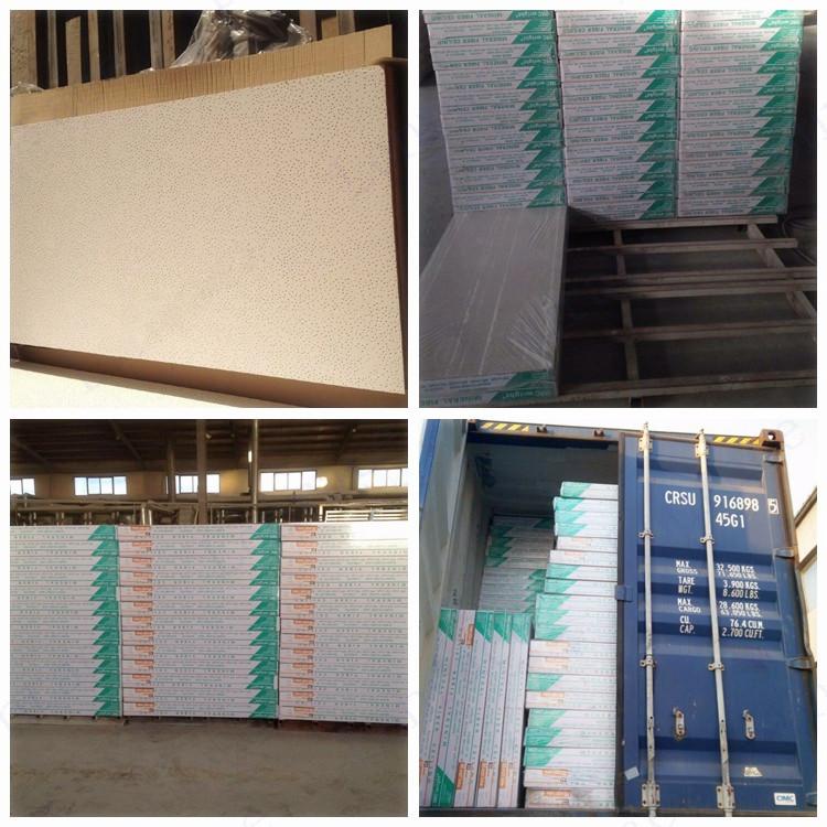mineral fiber ceiling tile supplier