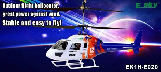 Esky E020 Big Lama Electronic RC Helicopter