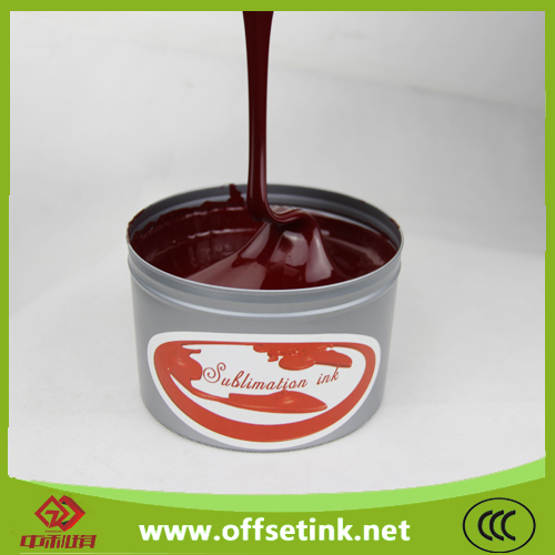 China High end product sublimation offset ink for polyester printing