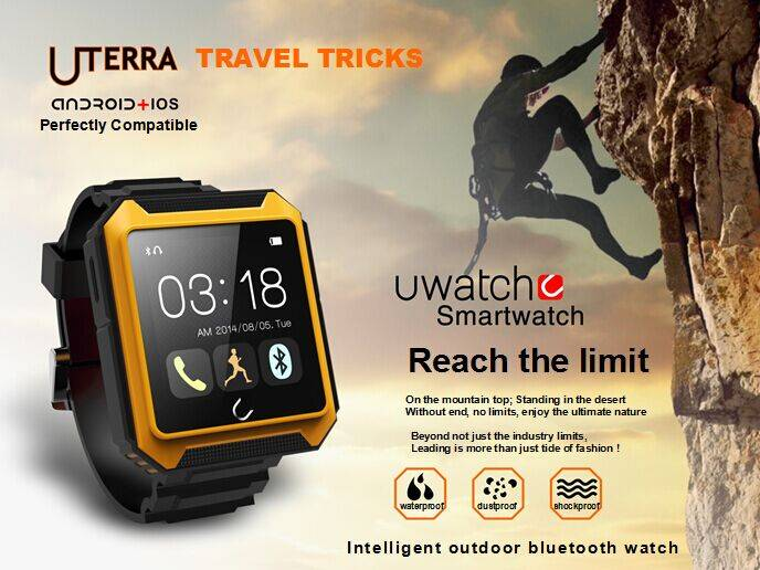 IP68 waterproof Smart Watch 1.6inch touch screen