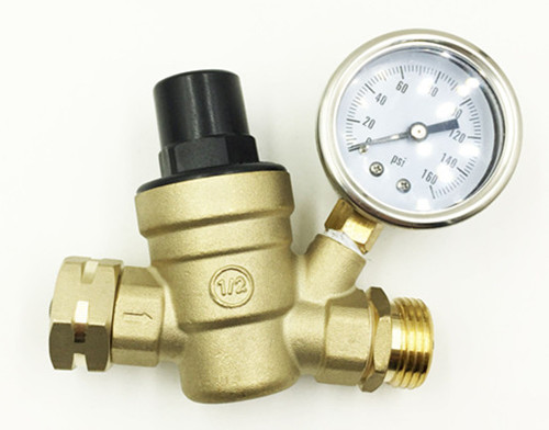 Lead free pressure regulator