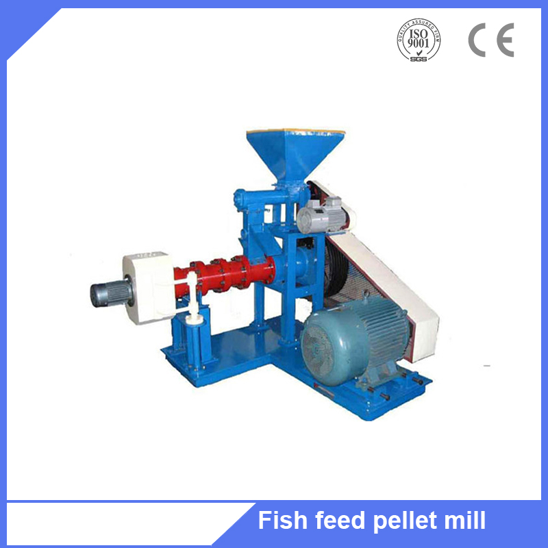 Automatic floating fish food feed pellet extruder machine from factory