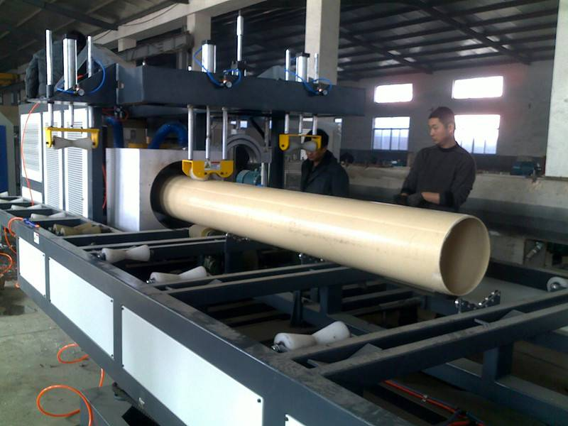 PVC Water Supply/Drainage Pipe Plastic Extrusion Machine