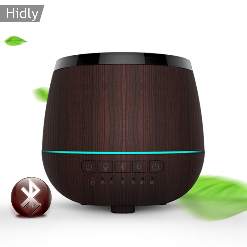 Bluetooth Speaker Aromatherapy Essential Oil Diffuser,Ultrasonic Cool Mist Humidifier