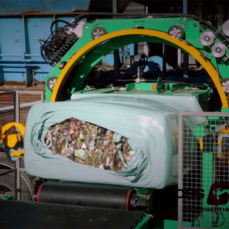 Waste Wrap Film Stetch Film For Waste Packing Material