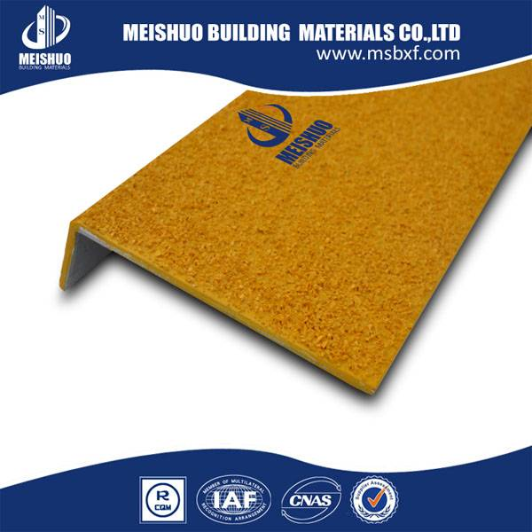 fiber glass heavy duty industrial stair safety treads