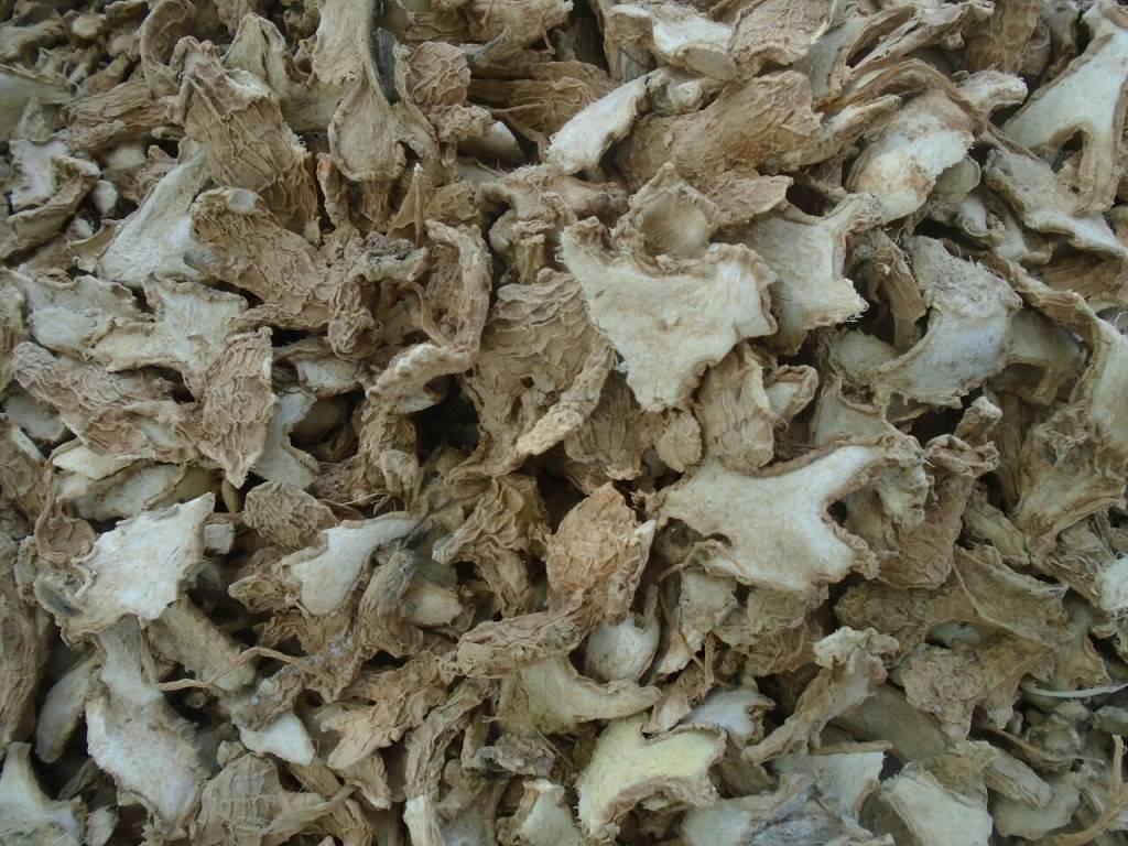 Dried Split Ginger