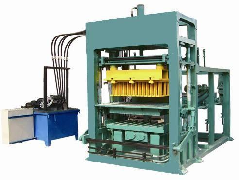 4-25 cement brick making machine