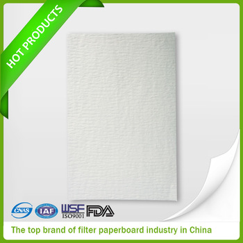 Industrial oil filter papers