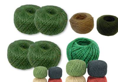 Jute Twine Color Ball