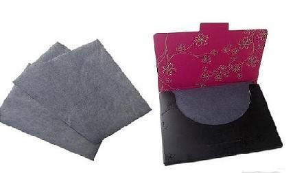 bamboo charcoal facial absorbent paper
