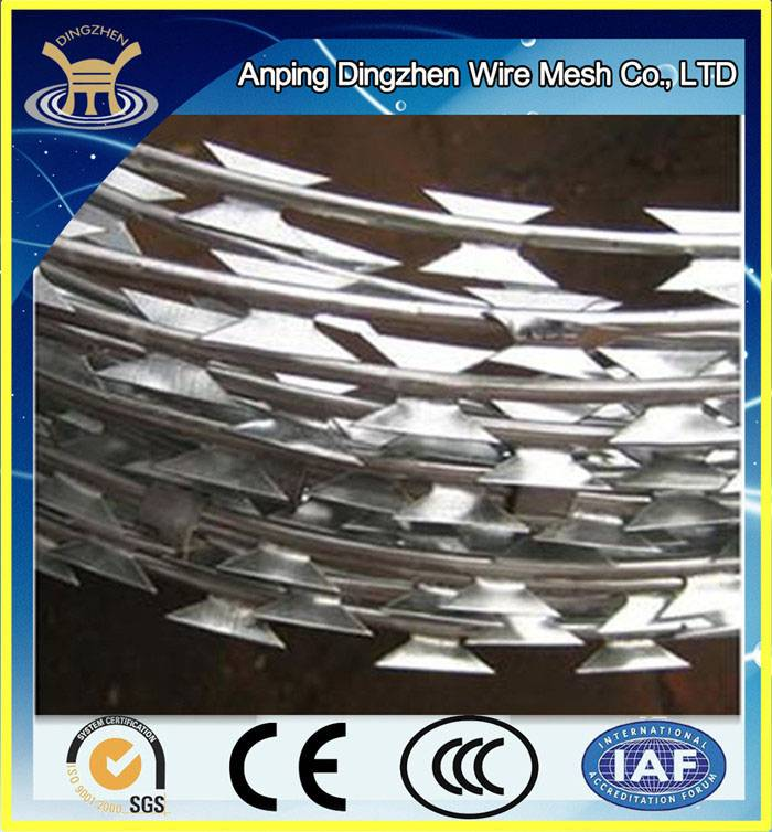 High Quality Razor Barbed Wire Mesh Supplier / Used Razor Barbed Wire Mesh For Sale