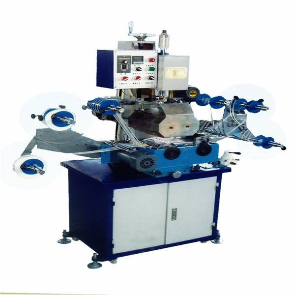TJ-44 auto ribbon foil stamping machine hot printer