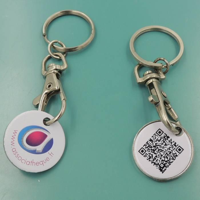 supermarket trolley coin token key ring,suppermarket coin,token coin
