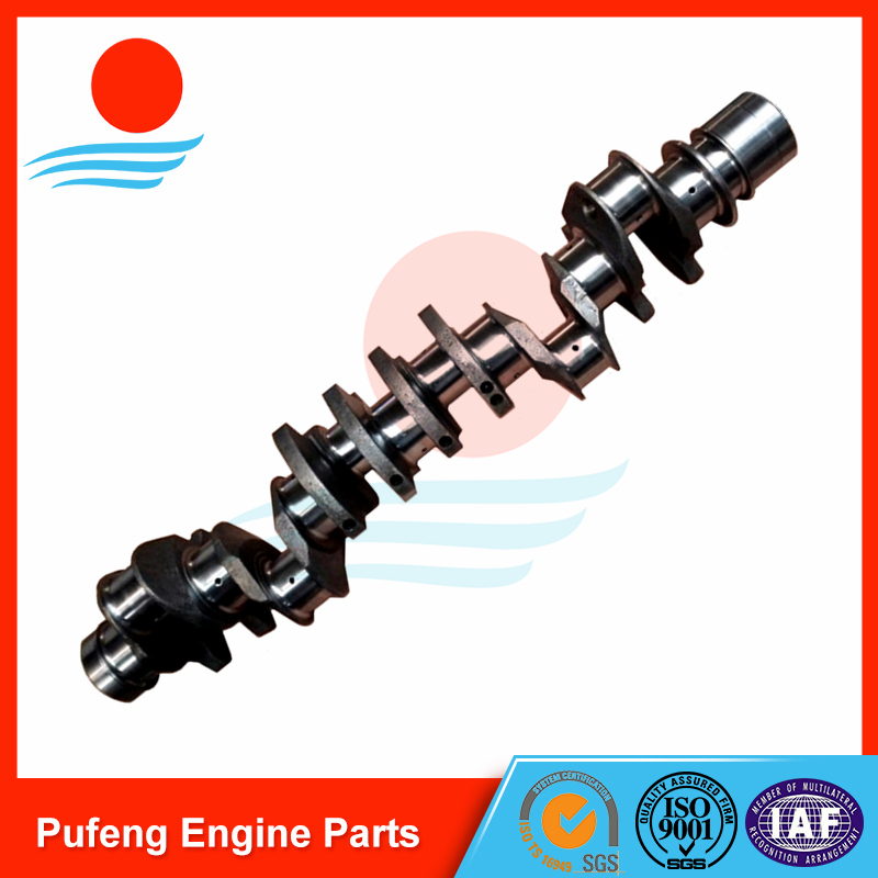Isuzu Crankshaft 6WG1 for common rail excavator ZAX450